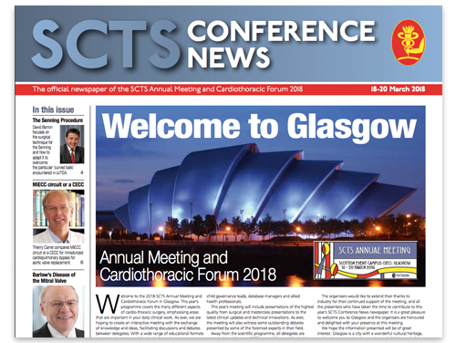 SCTS Conference News 2018